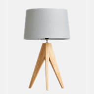 Linden table lamp Linen luxury